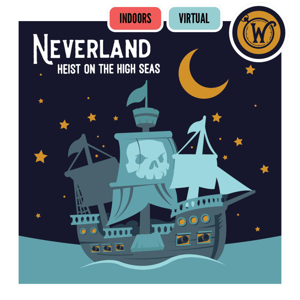 Neverland Heist on the High Seas