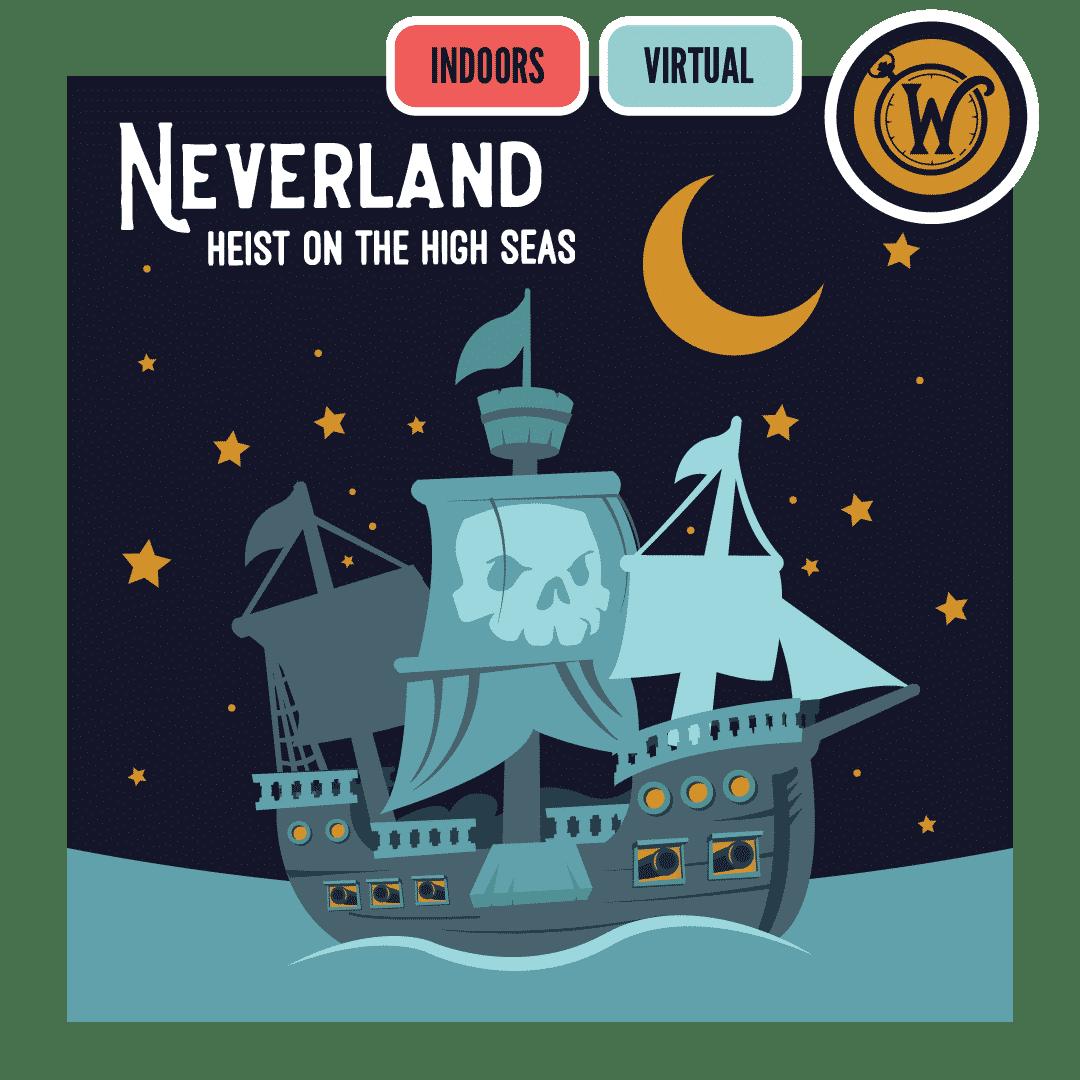 Neverland Heist on the High Seas