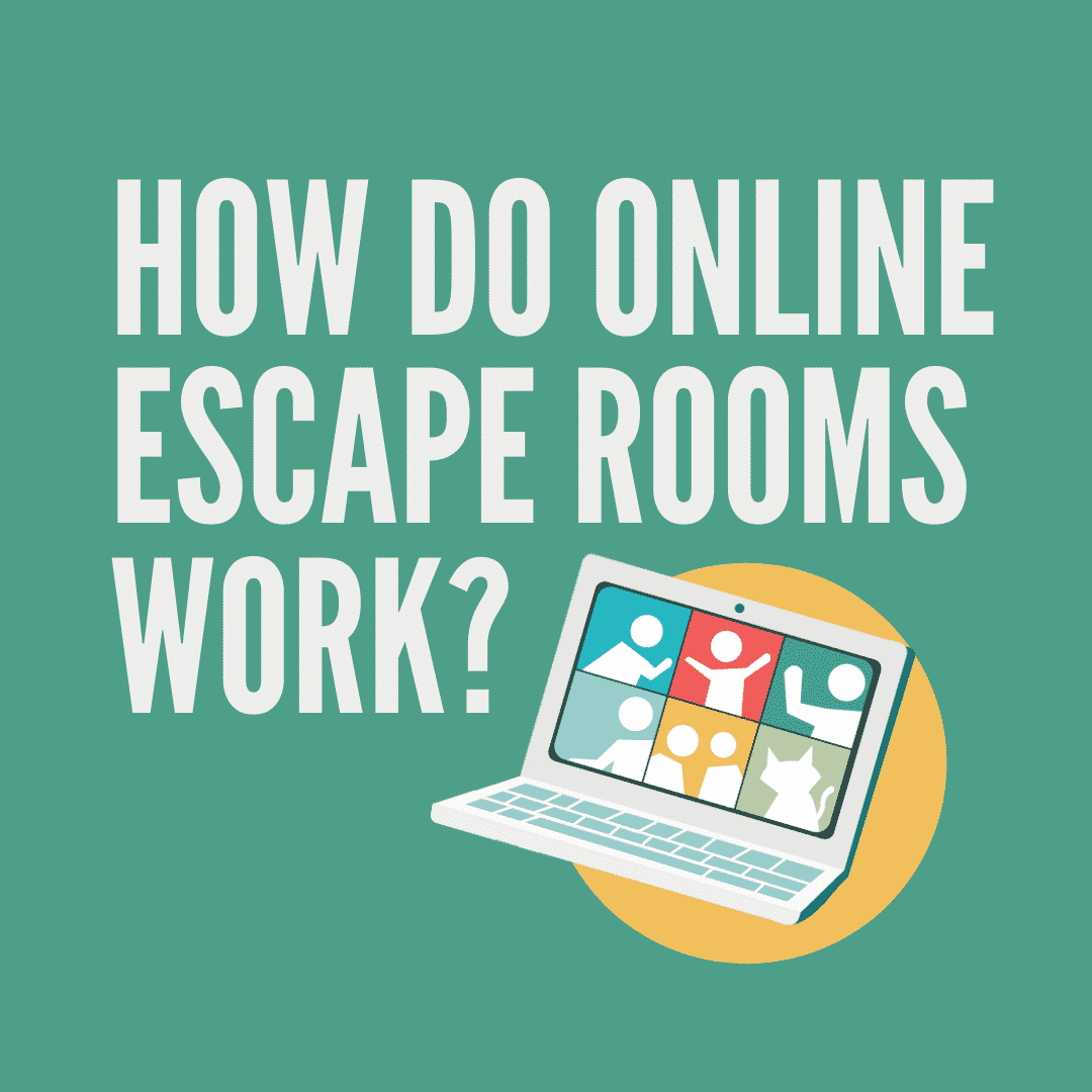 how do online escape rooms work?