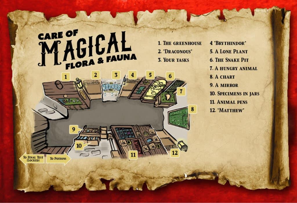 online escape room online resource the triwizard trials