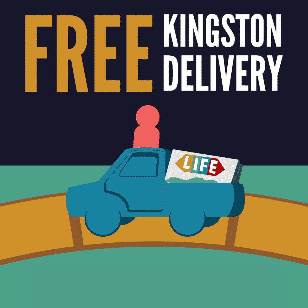 kingston ontario board game delivery