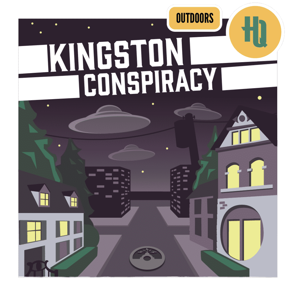 Kingston Conspiracy Improbable Escapes Outdoor Escape Room