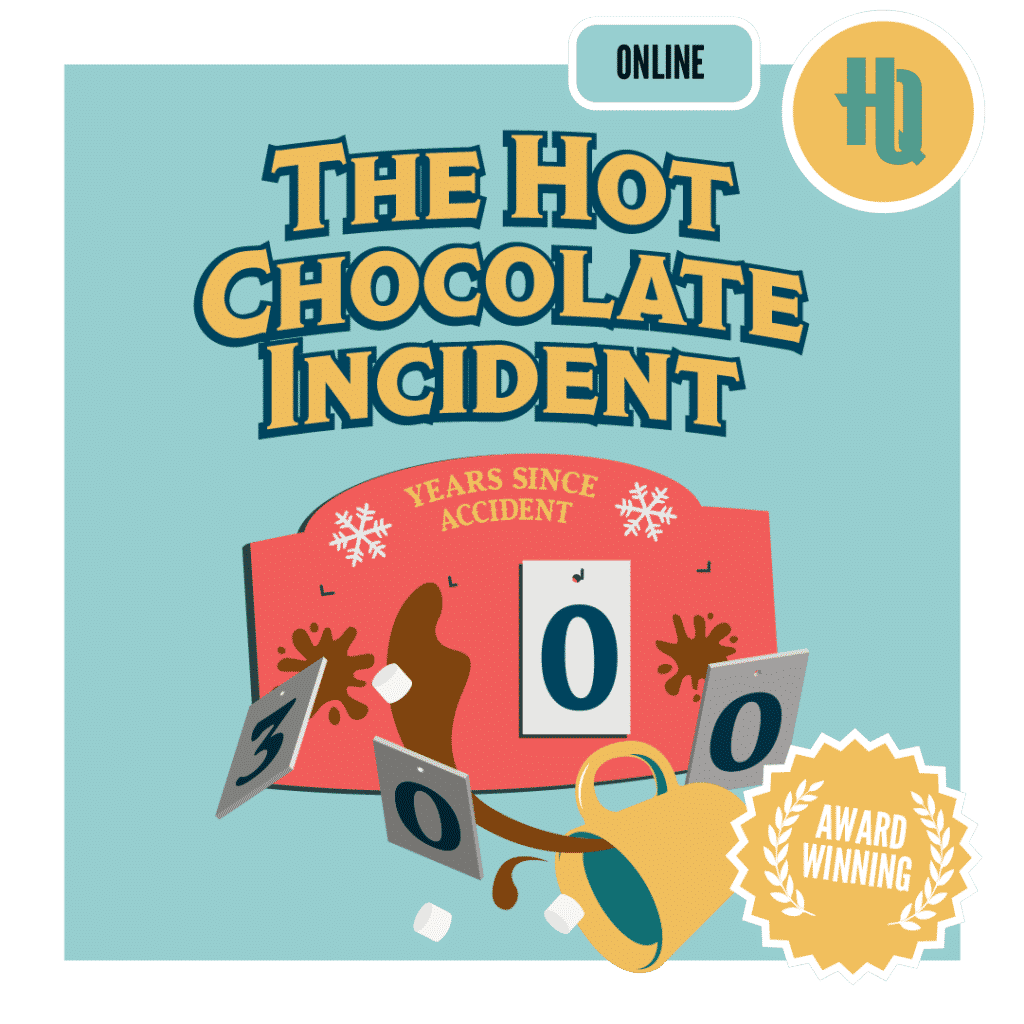 The Hot Chocolate Incident Improbable Escapes online escape room
