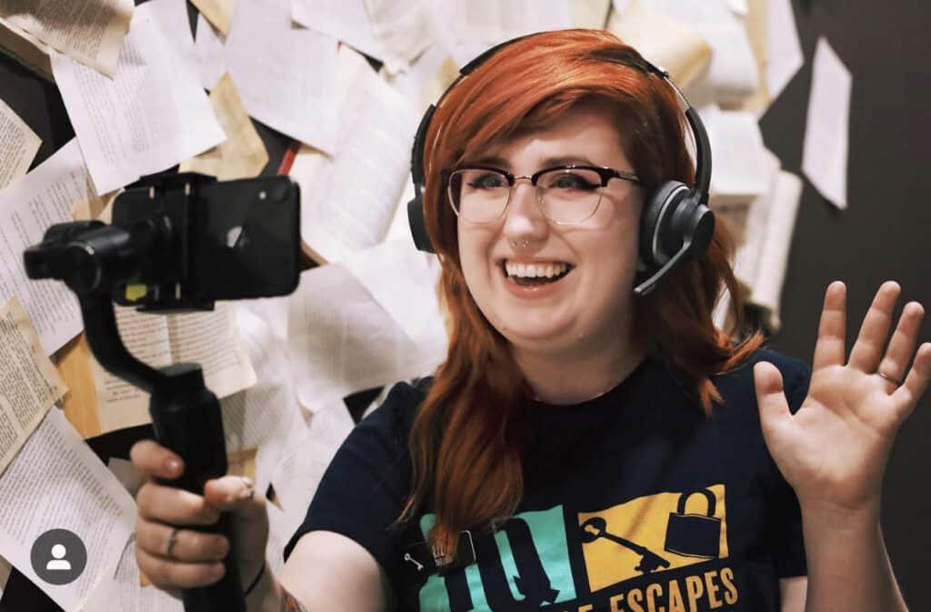 online escape room host at improbable escapes