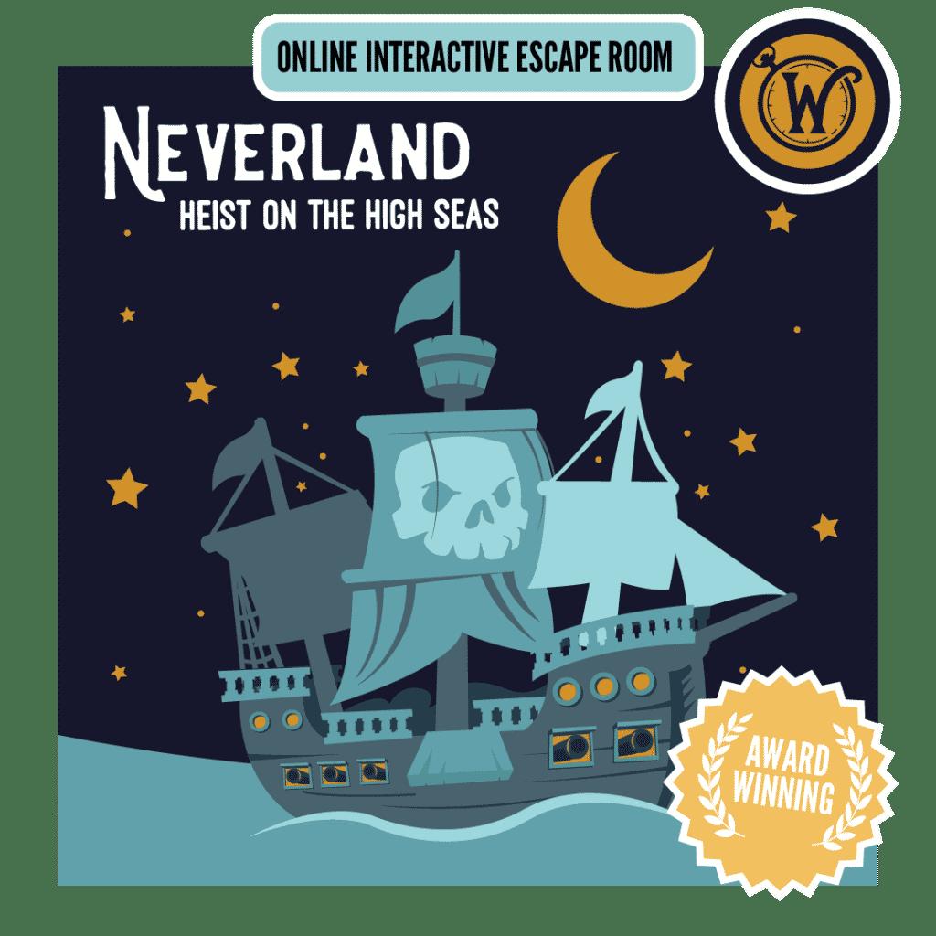 neverland online escape room